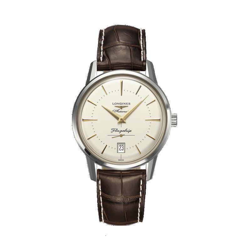 Montre Longines Heritage Collection L4.795.4.78.2 vue 1