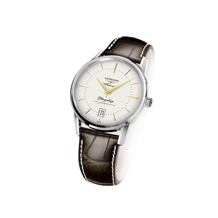 Montre Longines Heritage Collection L4.795.4.78.2 vue 2