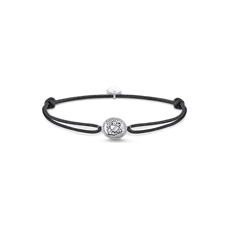 Bracelet Thomas Sabo Little Secret foi, amour, espoir en argent et oxyde de zirconium vue 1
