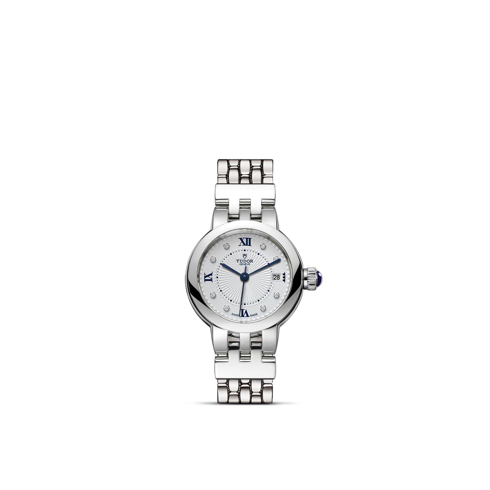 Montre TUDOR Clair de Rose boîtier en acier, 26mm, bracelet en acier vue 1