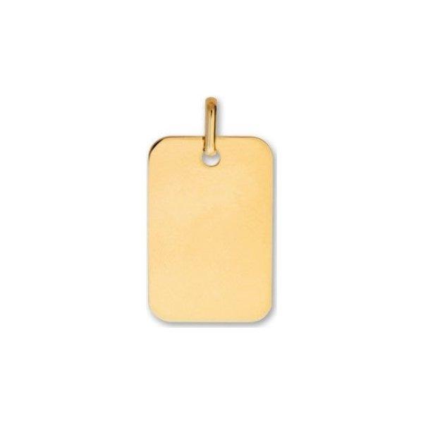 Médaille de baptême Lucas Lucor en or jaune