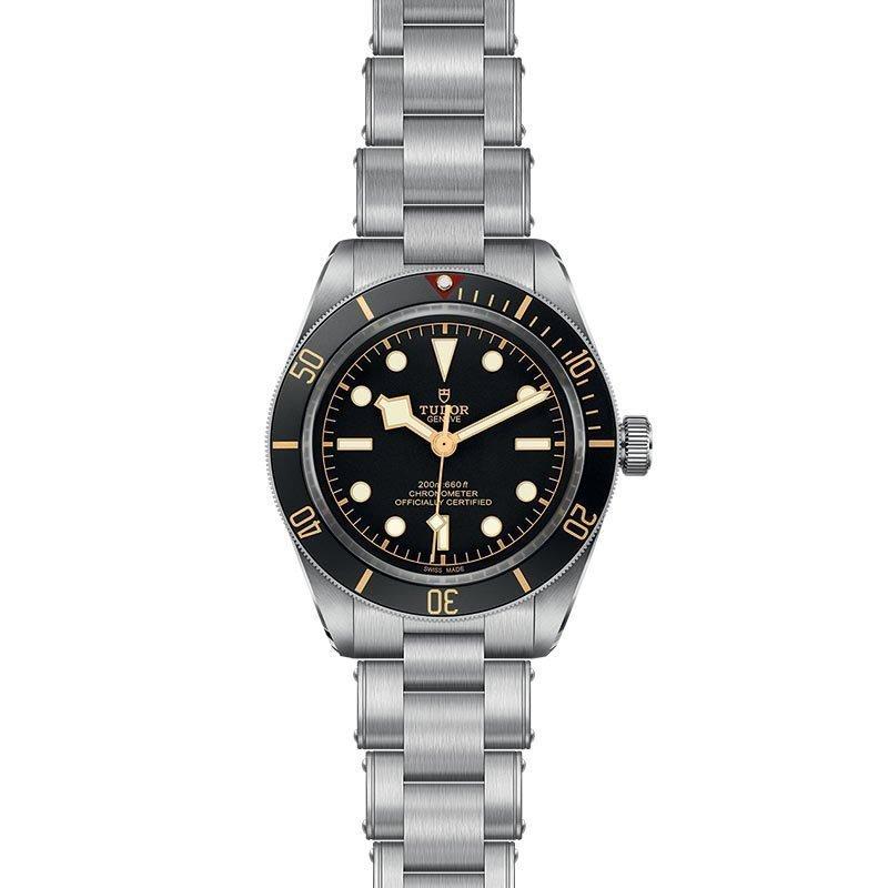 Montre TUDOR Black Bay Fifty-Eight boîtier en acier, 39mm, bracelet en acier vue 2