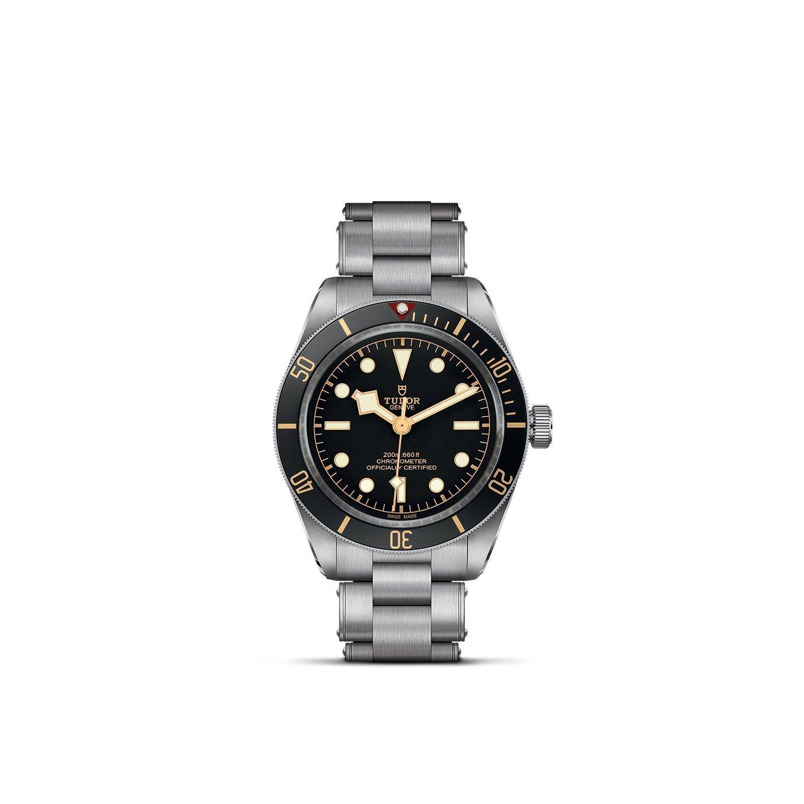 Montre TUDOR Black Bay Fifty-Eight boîtier en acier, 39mm, bracelet en acier vue 1