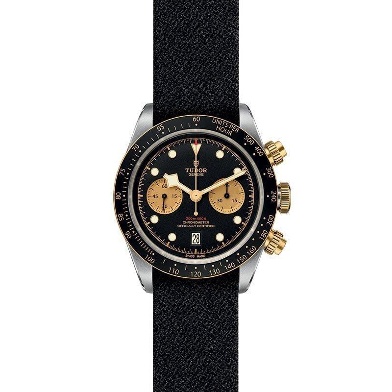 Montre TUDOR Black Bay Chrono S&G boîtier en acier, 41mm, bracelet en tissu vue 2