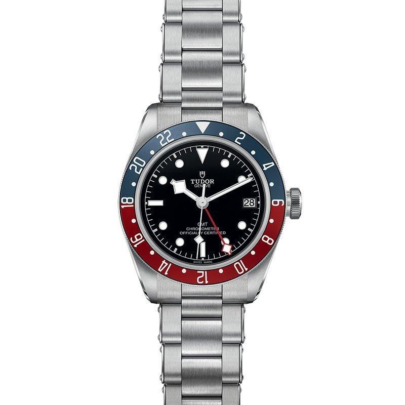 Montre TUDOR Black Bay GMT boîtier en acier, 41mm, bracelet en acier vue 2
