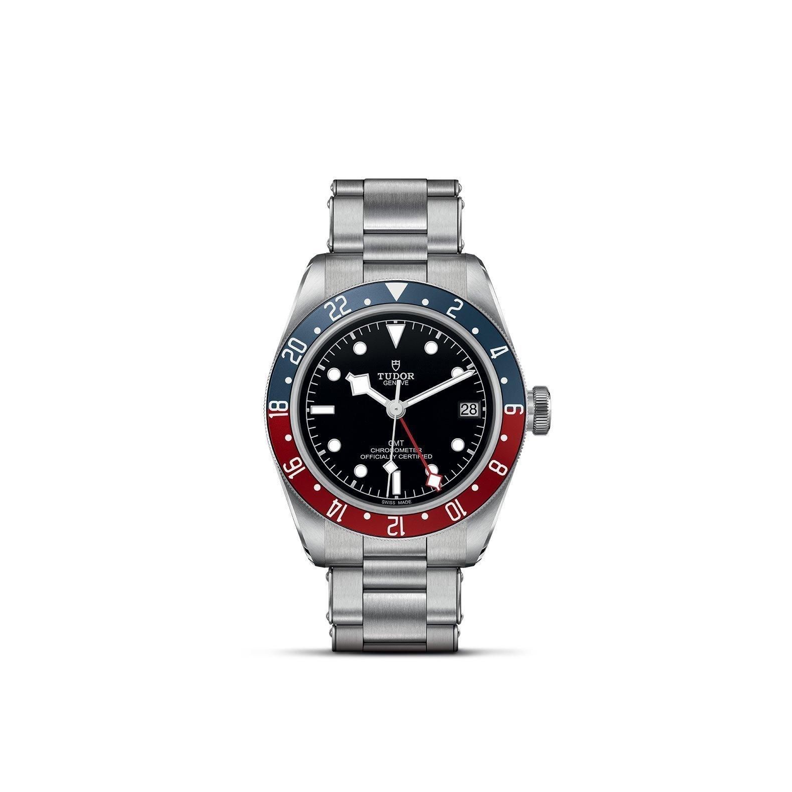 Montre TUDOR Black Bay GMT boîtier en acier, 41mm, bracelet en acier vue 1