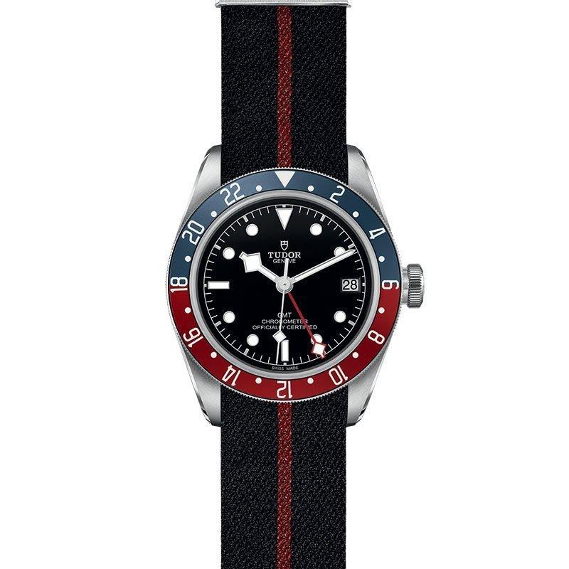 Montre TUDOR Black Bay GMT boîtier en acier, 41mm, bracelet en tissu vue 2