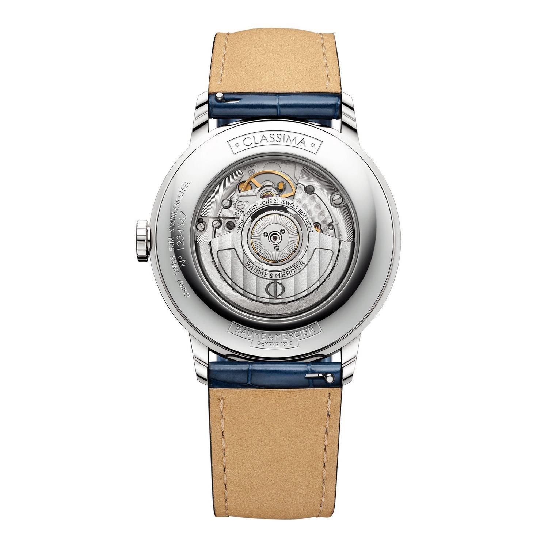 Montre Baume & Mercier Classima Dual Time 10272 vue 2