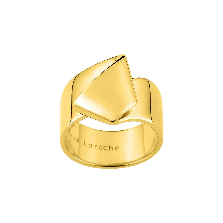Bague Guy Laroche en plaqué or jaune