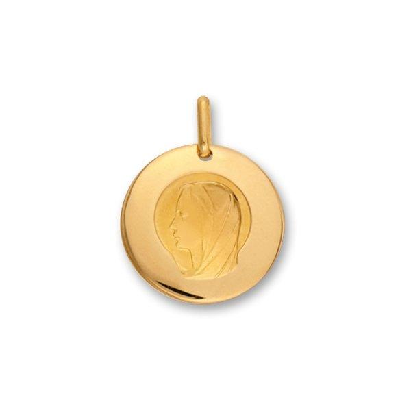 Médaille Vierge Lucas Lucor en or jaune