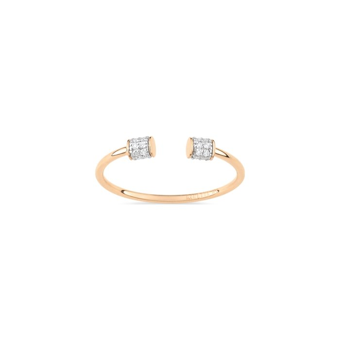 Bague GINETTE NY CHOKER en or rose et diamant