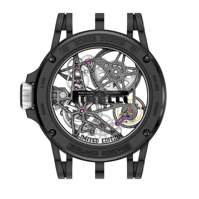 Montre Roger Dubuis Excalibur Spider Pirelli vue 2