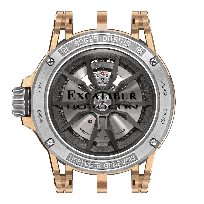 Montre Roger Dubuis Excalibur Spider Huracàn vue 3
