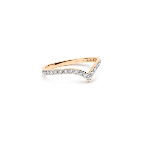 Bague GINETTE NY WISE en or blanc et diamants