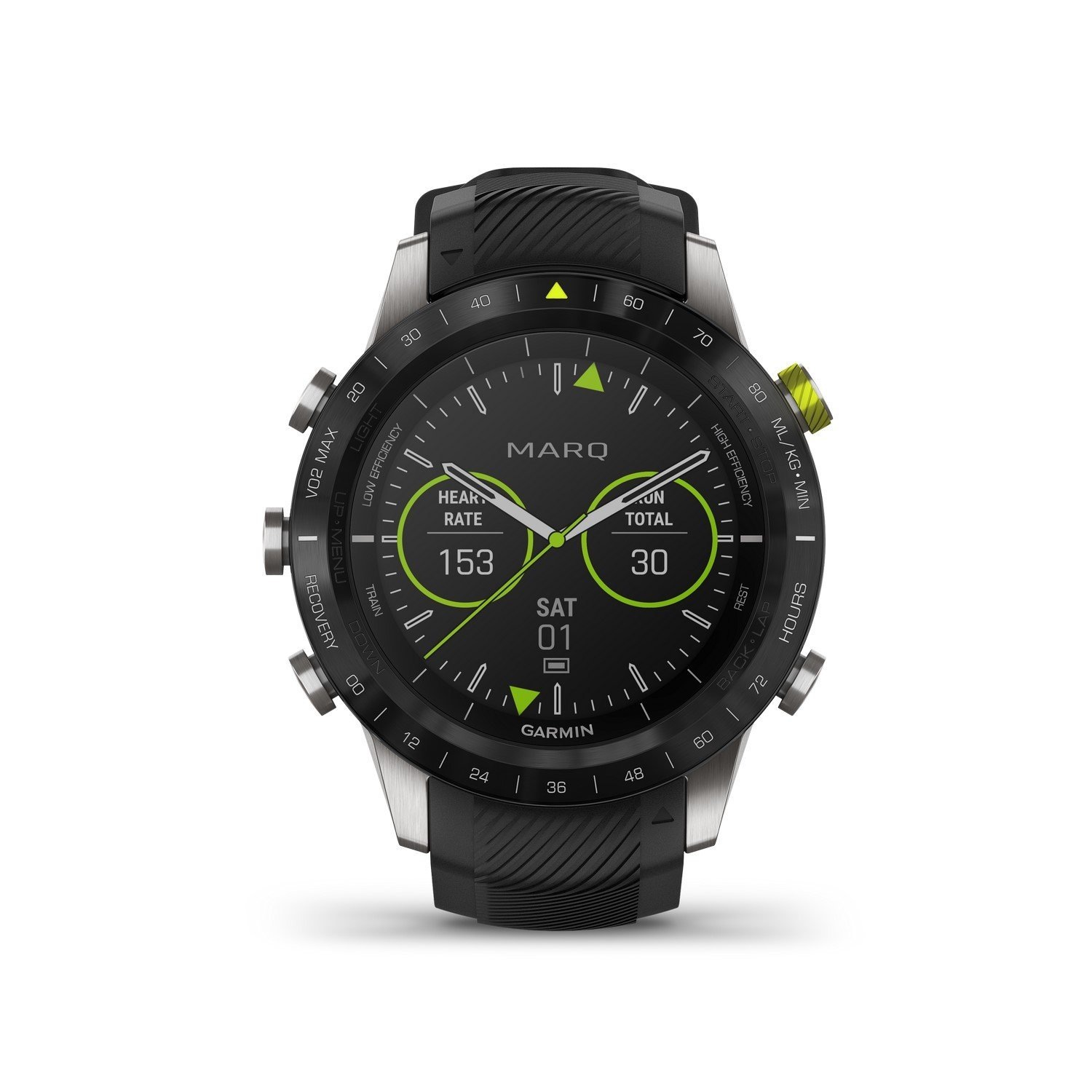 Montre Garmin Marq Athlete vue 1