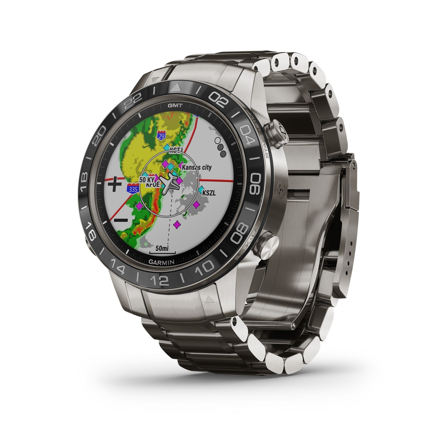 Montre Garmin Marq Aviator vue 5