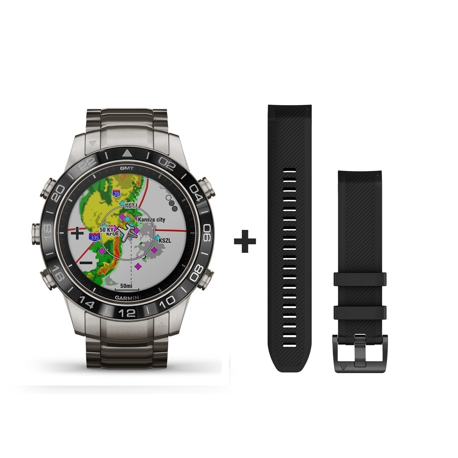 Montre Garmin Marq Aviator vue 1
