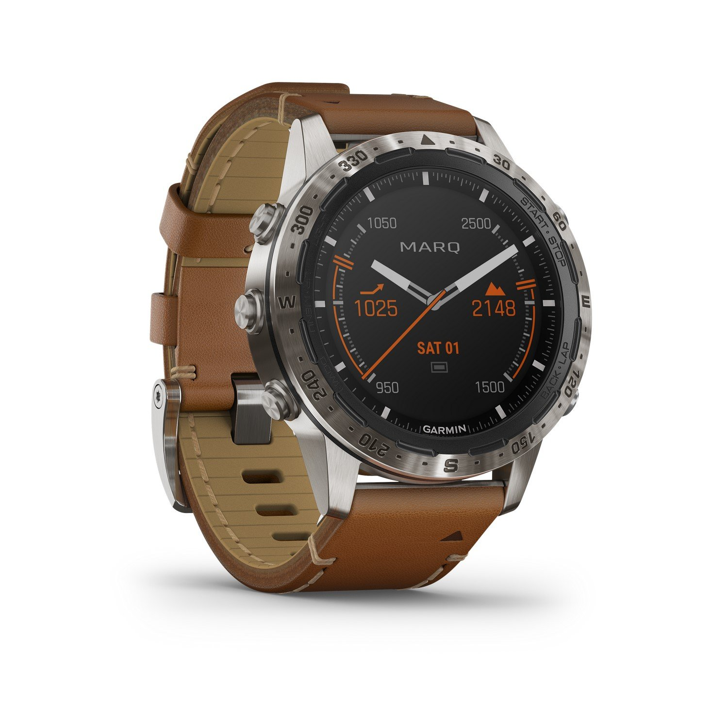 Montre Garmin Marq Expedition vue 5