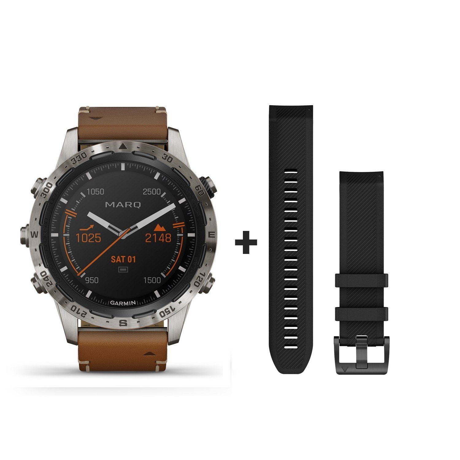 Montre Garmin Marq Expedition vue 1