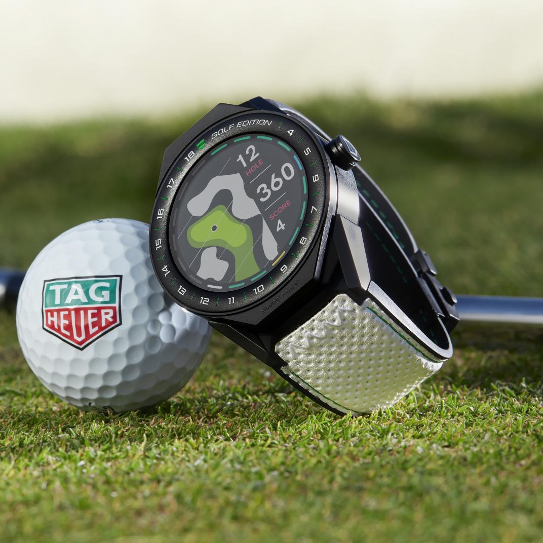 Montre TAG Heuer Connected Modular 45 édition Golf vue 3