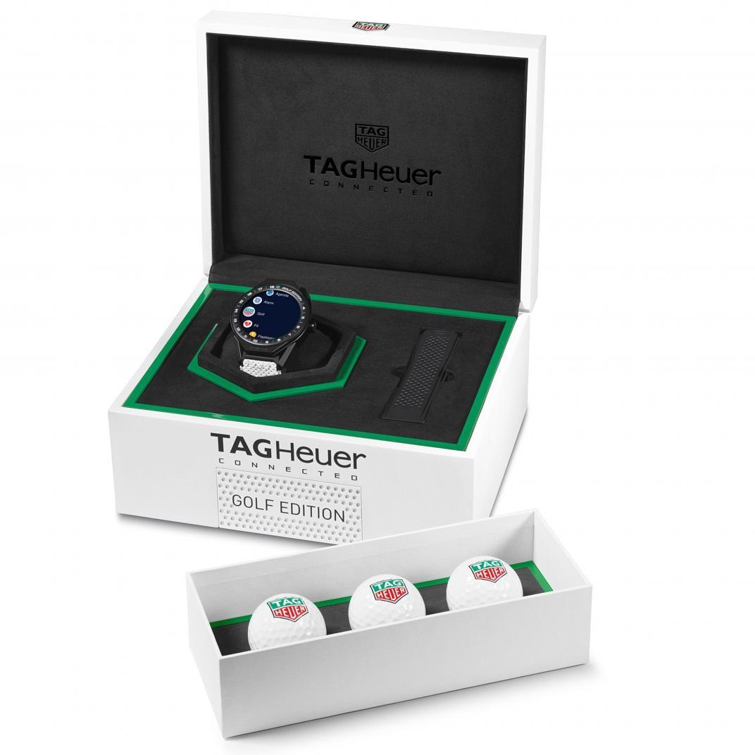 Montre TAG Heuer Connected Modular 45 édition Golf vue 4