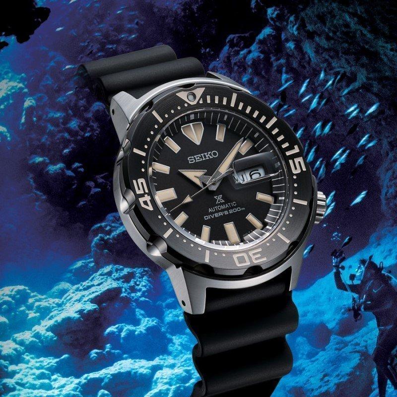 Montre Seiko Prospex Monster diver's 200m SRPD27K1 vue 2