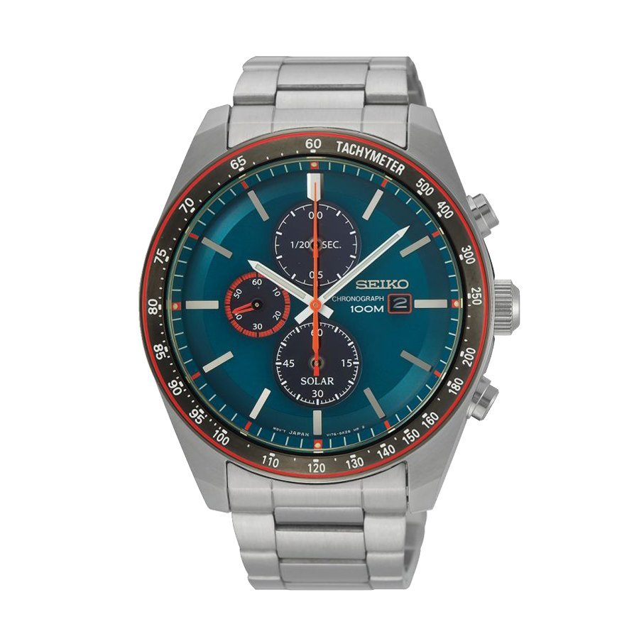 Montre Seiko Sport Chronographe Quartz Solaire SSC717P1 vue 1