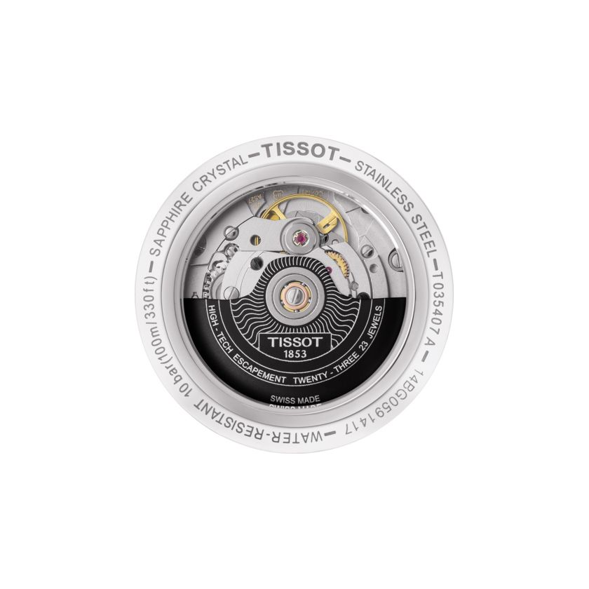 Tissot T-Classic Couturier Powermatic 80 vue 2