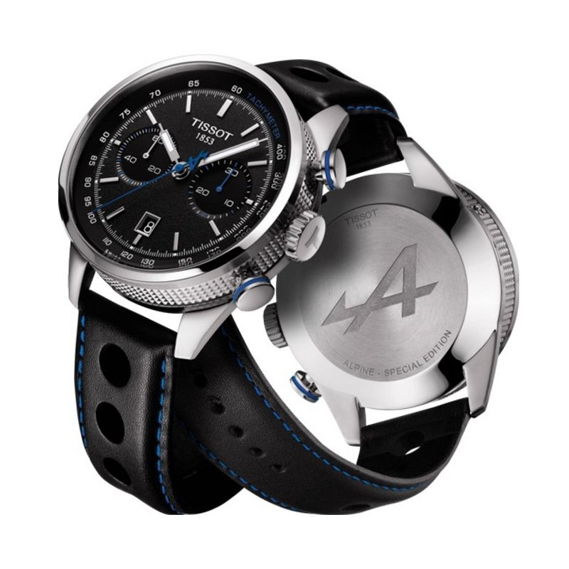 Montre Tissot Collections spéciales Alpine On Board Automatic Chronograph vue 3
