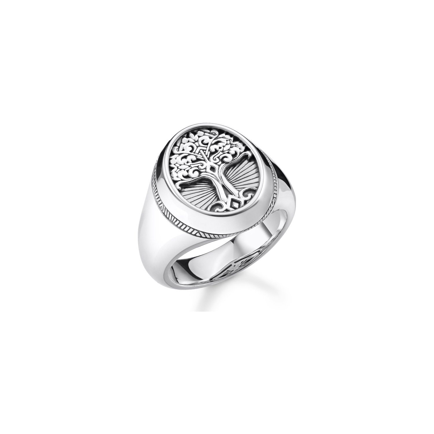 Bague Thomas Sabo Rebel at heart Tree of love en argent vue 1