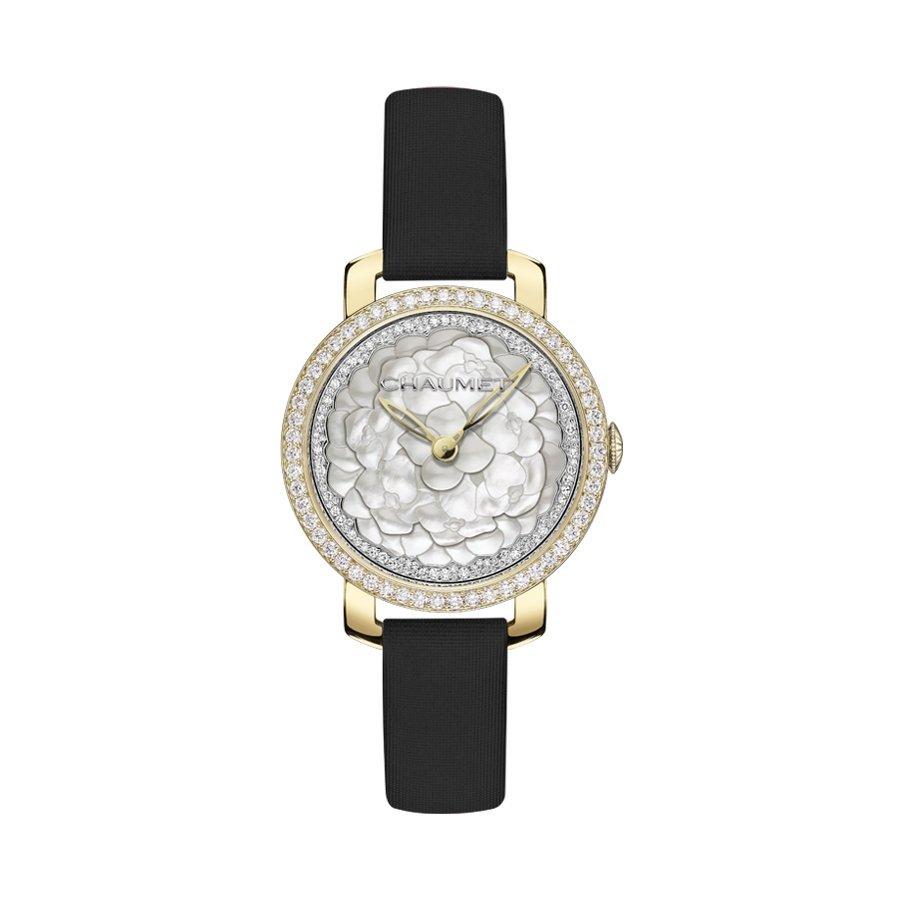 Montre Chaumet Hortensia Astres d'Or Moyen Modèle
