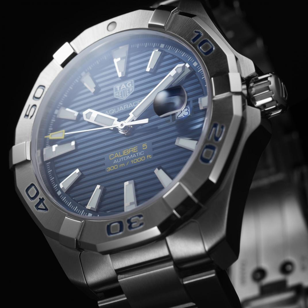 Montre TAG Heuer Aquaracer Calibre 5 Automatique vue 2