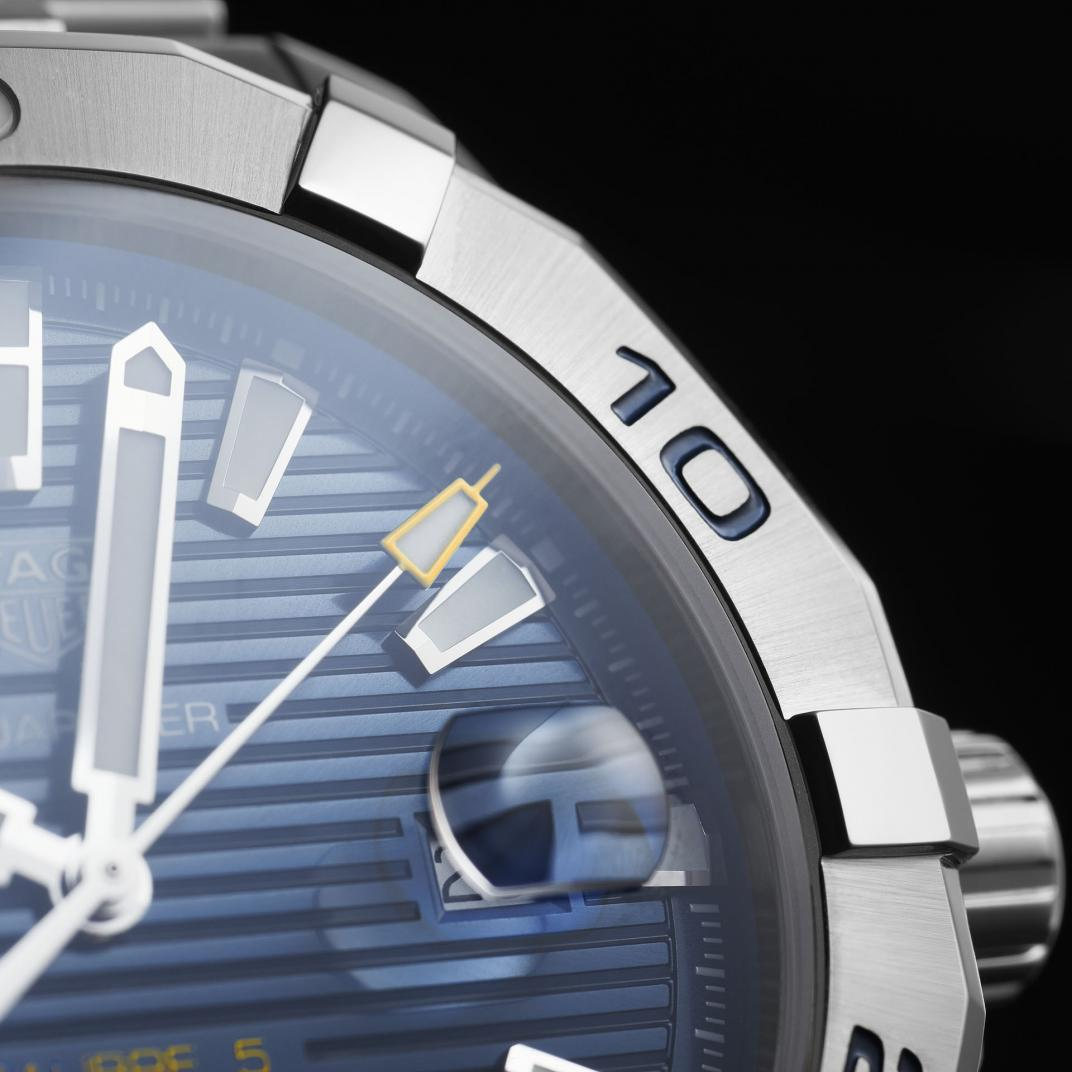 Montre TAG Heuer Aquaracer Calibre 5 Automatique vue 3