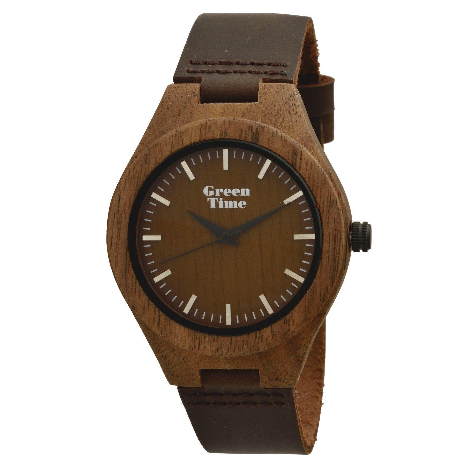 Montre Green Time en bois de santal ZW030M
