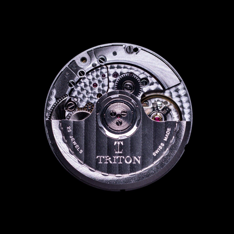 Montre Triton Subphotique Classique Atlantic Blue TR-01 vue 5