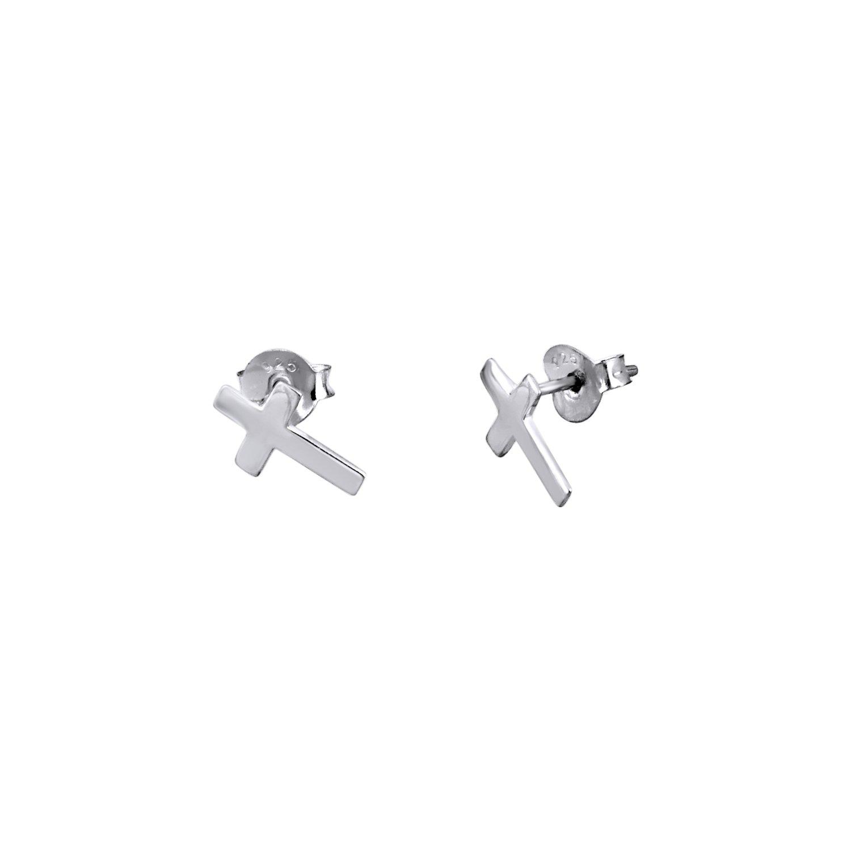 Boucles d'oreilles Lotus Silver Trendy en argent