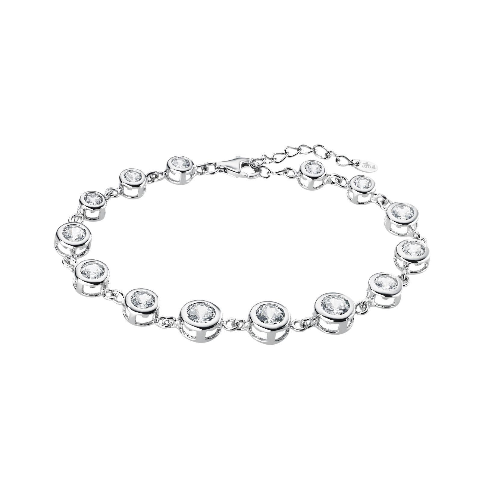 Bracelet Lotus Silver Rainbow en argent