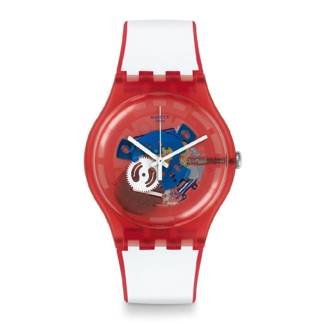 Montre Swatch Clownfish Red